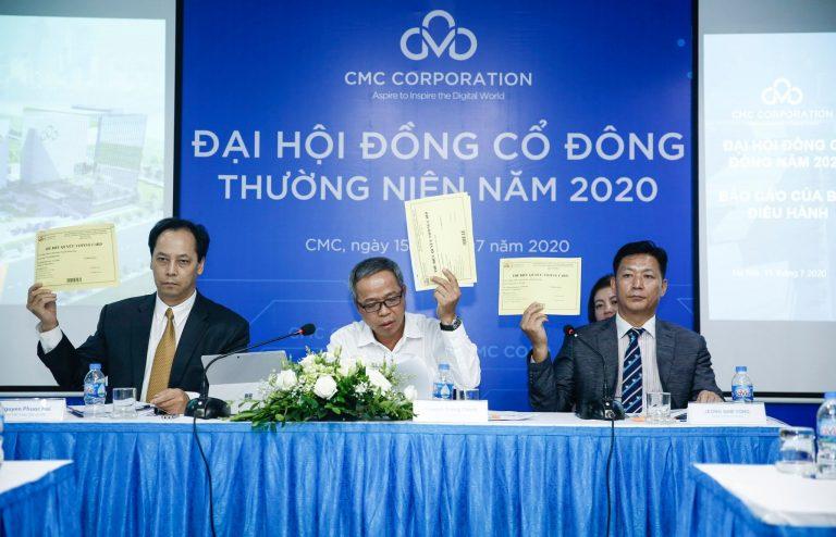 CMC Corporation の2020年の総会
