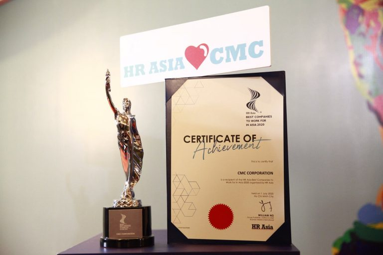 CMC Corporation: Best companies to work for in Asia 2020