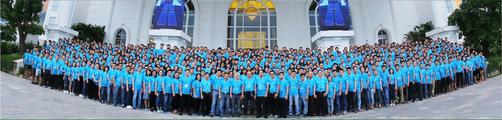 サービス紹介-CMC Global(オフショア開発)の従業員の全体写真
