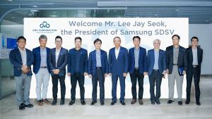 SamsungSDSベトナムとCMC グループの集合写真