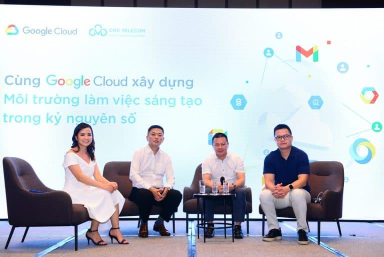 Google CloudとCtelのイベント