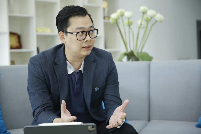 CMCグループの技術部長であるLuong Tuan Thanh氏